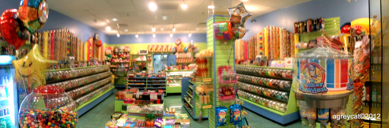 Candy world   Agreycat