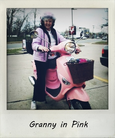 Granny in Pink