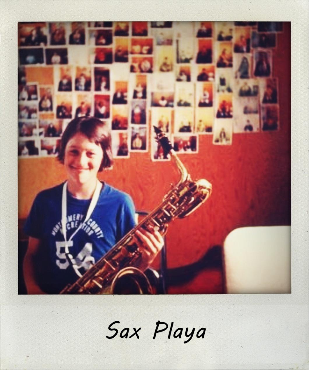 Sax Player '78